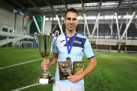 Надим Захаров — игрок года в «Спортинг-лиге»!