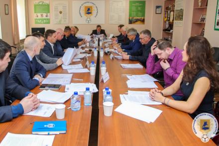 В Петербурге состоялось заседание Исполкома Федерации футбола
