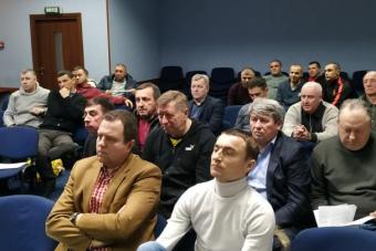 Інформаційний звіт про засідання 1 Виконкому РОАФ від 14.02.2020 р.