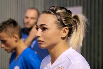 Ксения Коваленко не поможет женской сборной России в матче с Косово