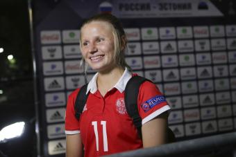 Марина Федорова – игрок «Локомотива»!