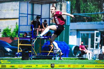 Перший тур SFCK. Зеленський і Циганков в командах Street Football Challenge Kyiv