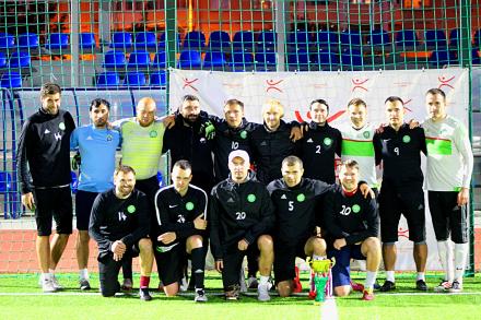 Завершился зимний чемпионат по футболу в формате 8х8.