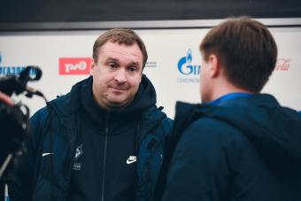 Денис Первушин возглавил мужскую команду