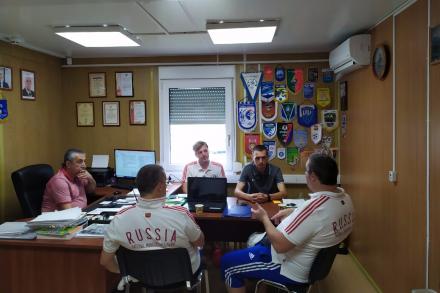 Состоялась встреча представителей федерации футбола города Сочи и Любительской футбольной лиги