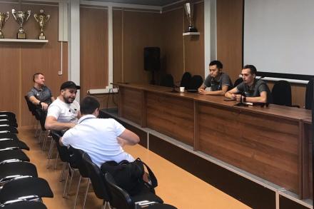 Сегодня было проведено собрание с представителями команд Чемпионата города 8 на 8