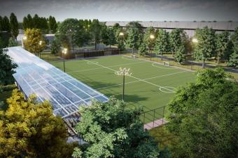 Федерація мініфутболу України розпочала будівництво стадіону