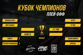 Кубок Чемпионов - решающие матчи