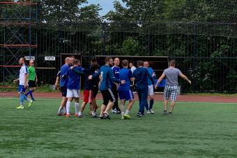 БелАЗ - Портер-СпортСофт 5:1(1:1).