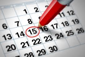 Изменение в расписании на следующую неделю