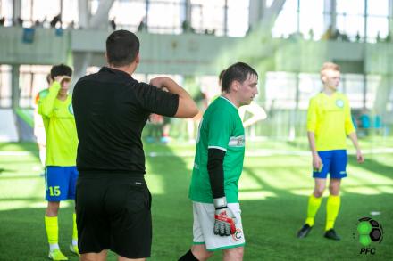 Испытание мужским футболом