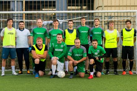 «ЭФКО» «выцарапывает» свое первое футбольное ЗОЛОТО в Лиге Безгалстуков