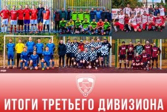 Стали известны победители и призёры третьих дивизионов