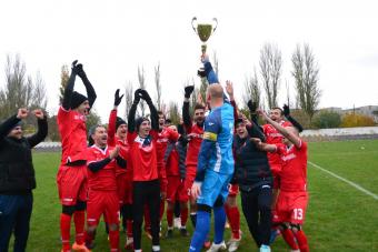 «Хаджибей» стал 2-кратным обладателем Кубка Трусевича и впервые в своей истории сделал золотой дубль