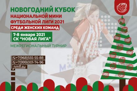 НОВОГОДНИЙ КУБОК НМФЛ СРЕДИ ЖЕНСКИХ КОМАНД