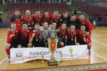 Гомельский ВРЗ впервые выиграл Кубок Беларуси