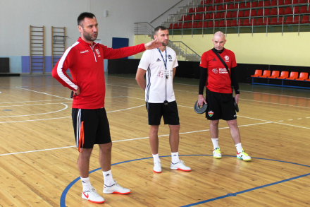 В Столбцах начался сбор юношеской (U-19) сборной Беларуси