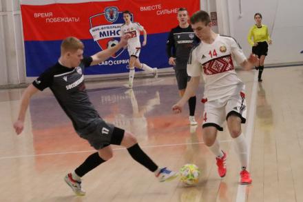 Юношеская сборная Беларуси сыграла вничью с