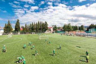 Весенний тренировочный лагерь Футбольной Академии «Авангард»