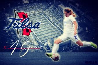 Анастасия Говор будет выступать за американскую Tulsa Golden Hurricanes!