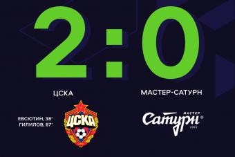ЦСКА одерживает победу над