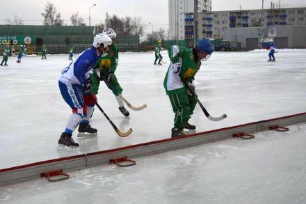 Окончание чемпионата Московской области?