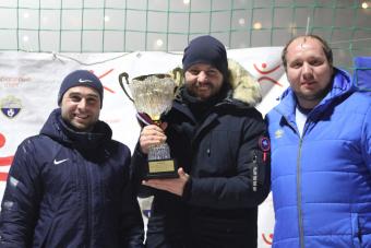 ФК «Боевое Братство» - чемпион Зимнего чемпионата по футболу 8 на 8