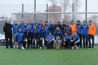 ФК «Зоркий» - чемпион зимнего турнира по футболу «Winter Red Cup»