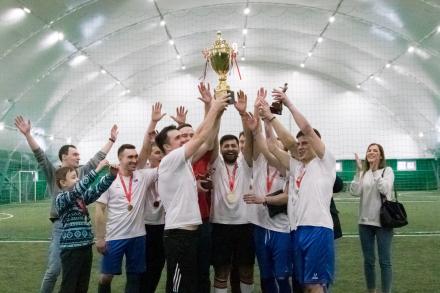 Обзор седьмого тура «VII Чемпионата среди строительных организаций по мини-футболу»
