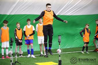 Восьмой просмотр футболистов в топ академии пройдёт уже 30 апреля!
