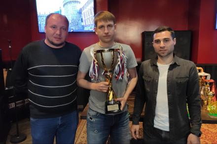 Награждение победителей и призеров Чемпионата г.о. Красногорск по мини-футболу