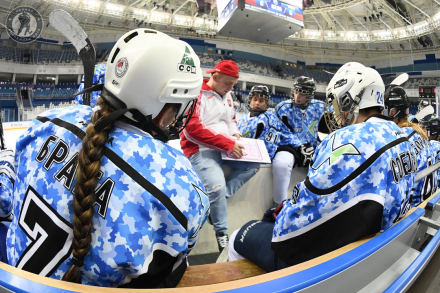 Мария Бодрикова: «В хоккее мы находим настоящих друзей, с которыми и дальше идём по жизни»