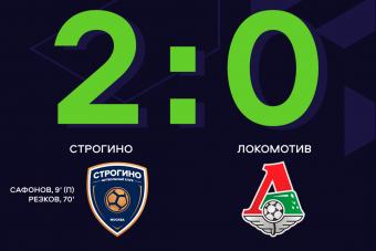 «Строгино»  дома обыгрывает «Локомотив»