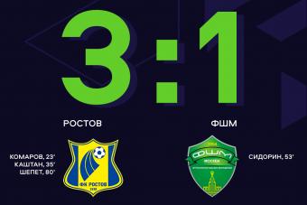 «Ростов» выиграл у ФШМ