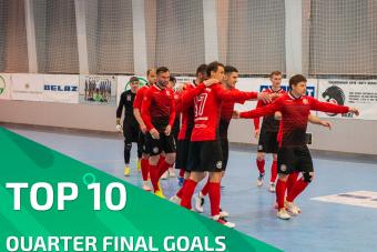 TOP 10 | QUARTER FINAL GOALS by Belarusian futsal association