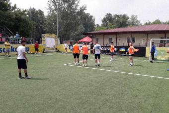Збірна Румунії: останнє тренування перед збірною Молдови