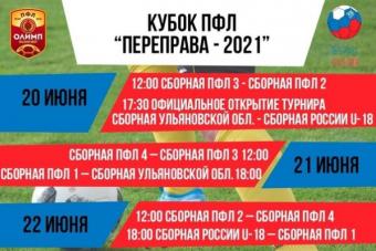 Кубок ПФЛ. Переправа-2021 в Ульяновске!