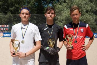 В столиці України відбувся «Кубок Києва 2021» з пляжного футболу серед юнаків 2006-2007 рр!
