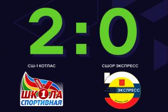 СШ-1 Котласа победой закончила первый круг