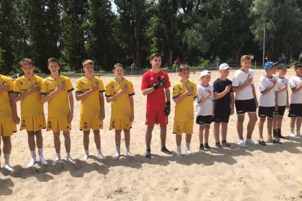 Свято пляжного футболу серед дітлахів!