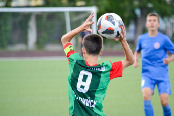 Иван Абрамов приносит победу СШОР №2