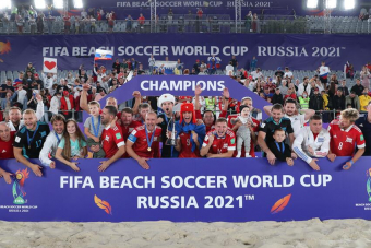 Россия - чемпион мира по пляжному футболу!