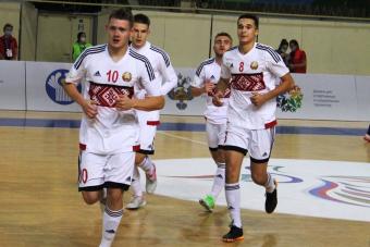 Юношеская сборная Беларуси вышла в финал Игр стран СНГ