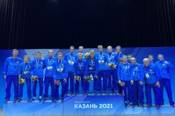Сборная Беларуси стала серебряным призером Игр стран СНГ