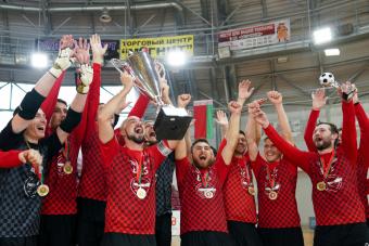 ВРЗ впервые выиграл Суперкубок Беларуси
