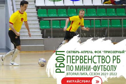 Открытое первенство РБ по мини-футболу