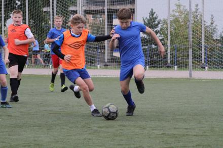 Завершился очередной тур Чемпионата и первенства по футболу среди детских и подростковых команд