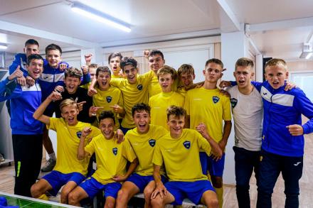 КСШОР – победители Дальневосточной Юношеской футбольной лиги