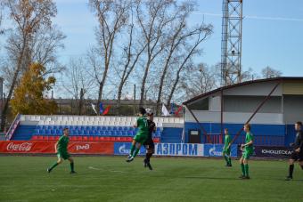 «Вулкан» завершил сезон крупной победой в Белогорске