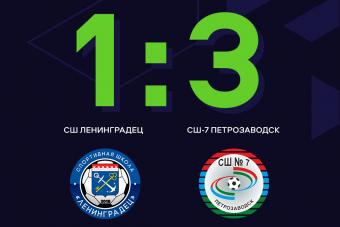 СШ-7 из Петрозаводска — бронзовый призер ЮФЛ Северо-Запад!